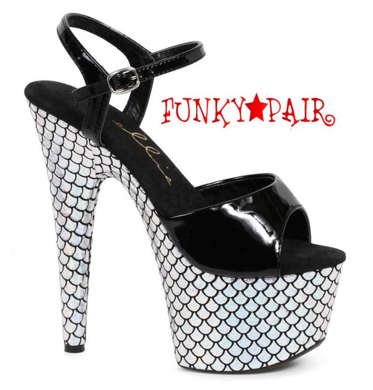 "709-Marina 7"" Mermaid Platform Shoes"