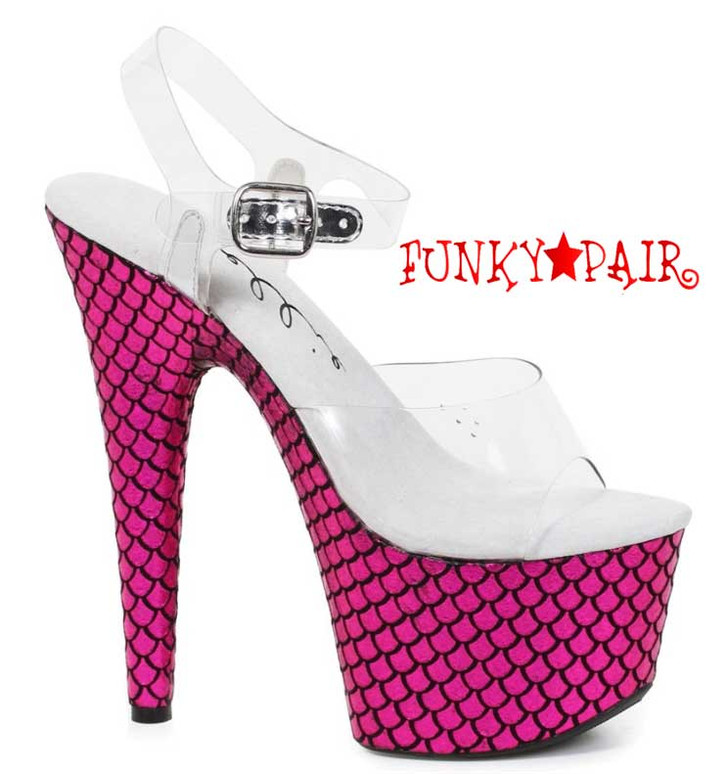 """709-Mermaid 7"""" Mermaid Dancer Shoes"""