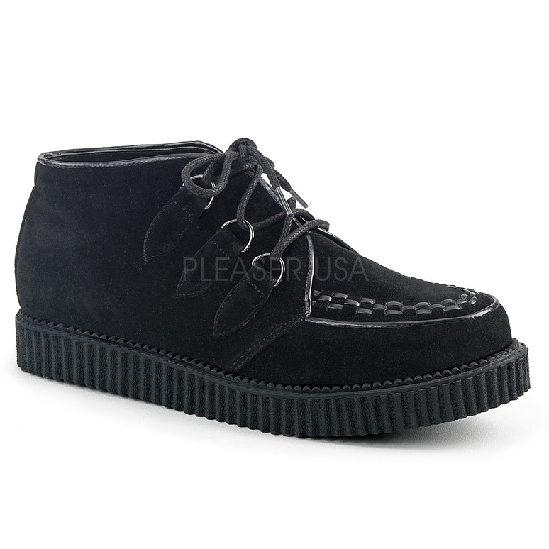 V-Creeper-662, 1 Inch Platform Lace up Chukka Creeper