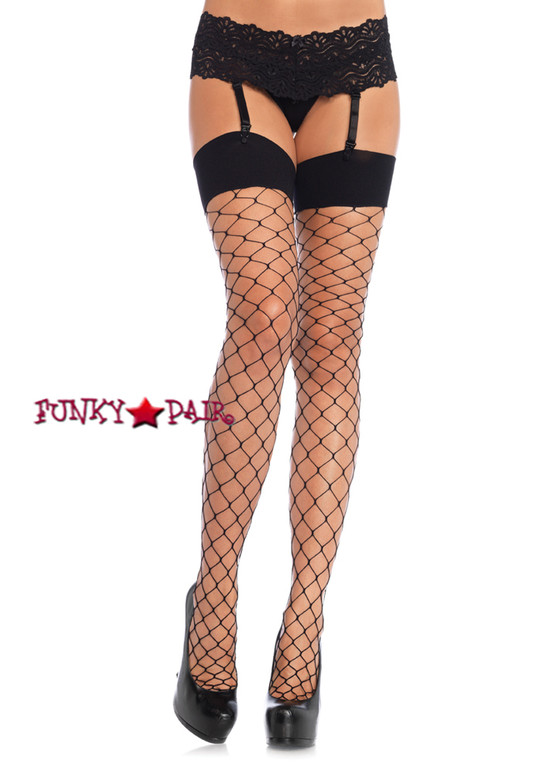 LA9105, Spandex Fence Net Stockings