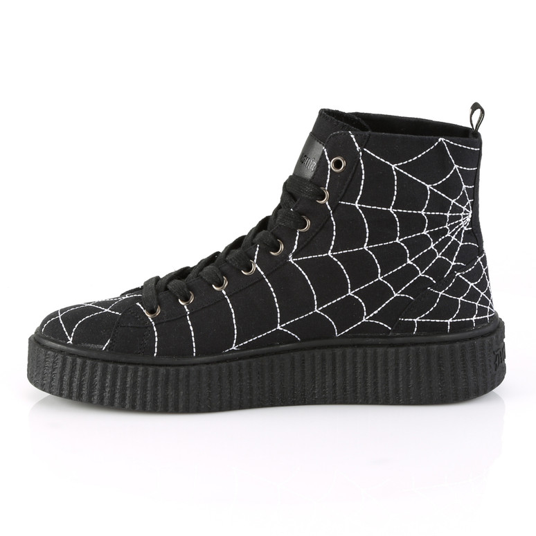 Sneeker-250, Creeper with Web Detail side view