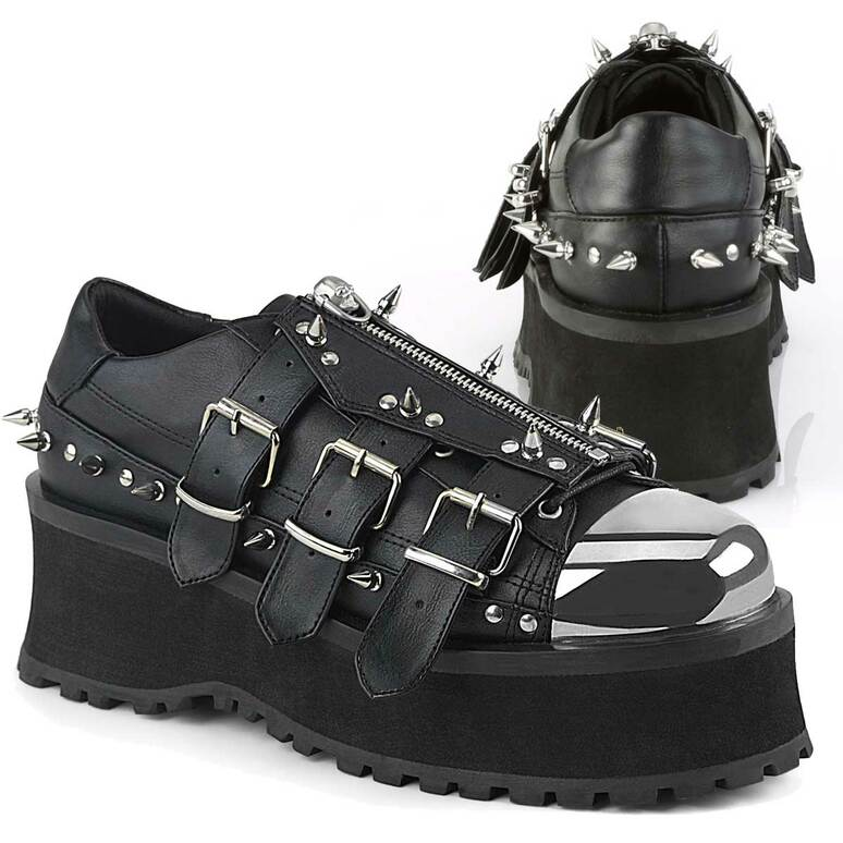 Gravedigger-03, Platform Oxford with Spikes Demonia