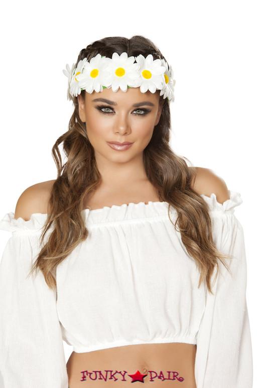 R-4882, Light-up Daisy Headband