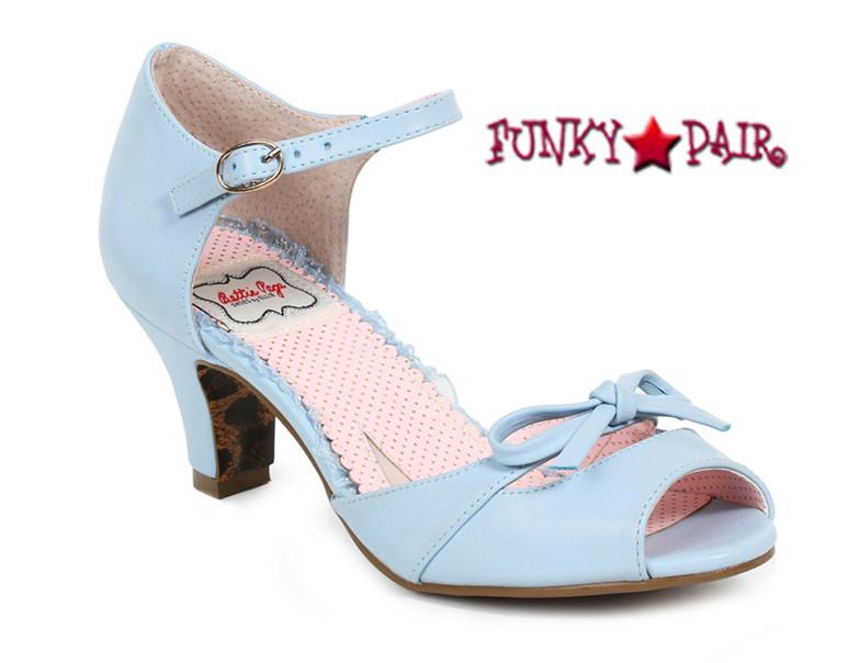 Blue BP250-Tegan, 2 Inch Peep Toe Sandal with Bow