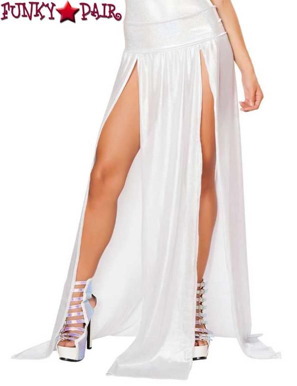 J Valentine Gypsy Skirt color Silver JV-FF470