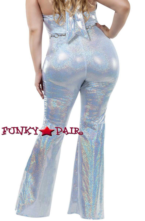 Starline Costume | S8032X, Plus Size Disco Honey Back View
