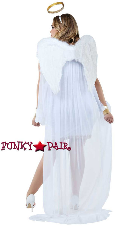 Starline Costume | S8020X, Plus Size Heavenly Honey Back View