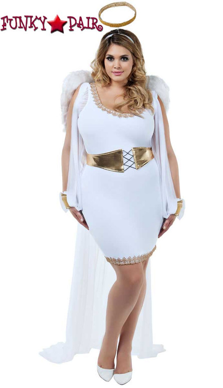 Starline Costume | S8020X, Plus Size Heavenly Honey Full View