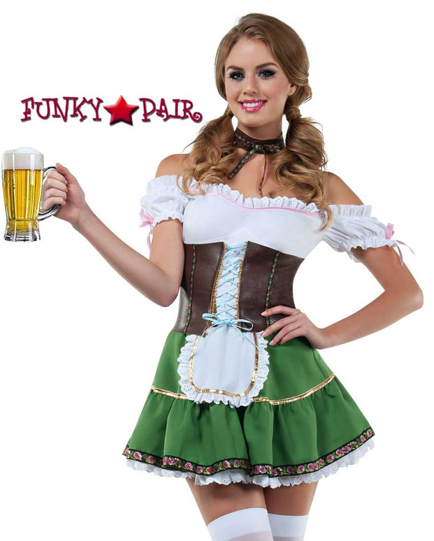 Starline Costume | S8030, Beer Girl Front View