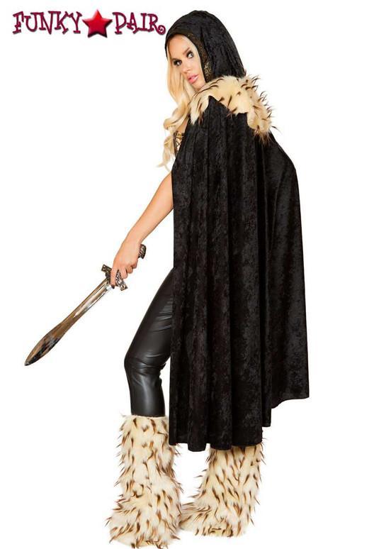 Roma Costume | R-4802, Women's War Hero back view