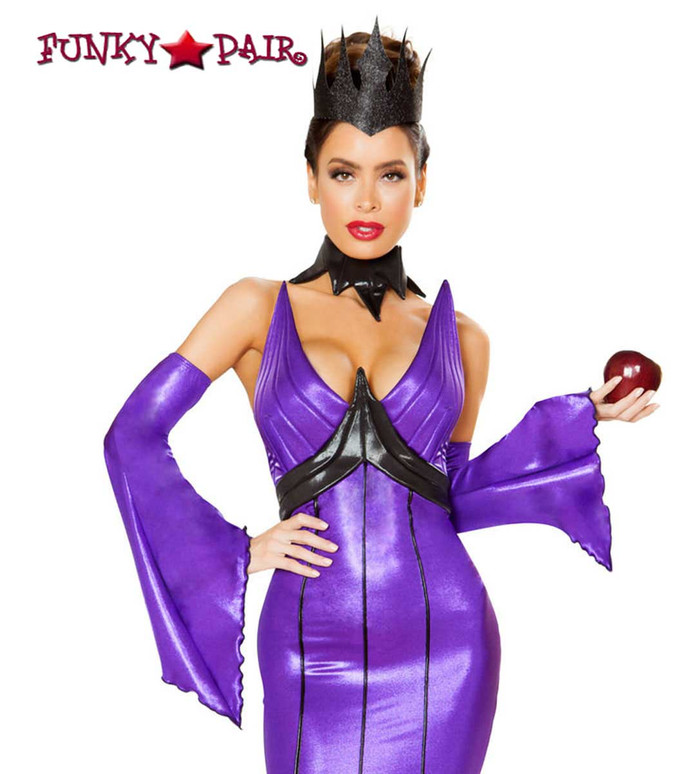 Wicked Queen Roma Costume | R-4786 close up view