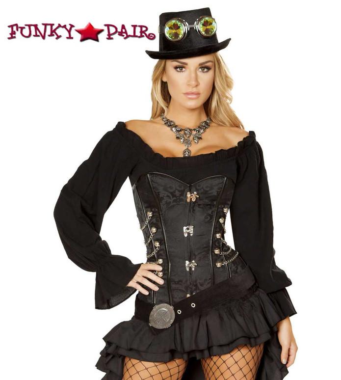 Victorian SteamPunk Maiden Roma Costume | R-4856