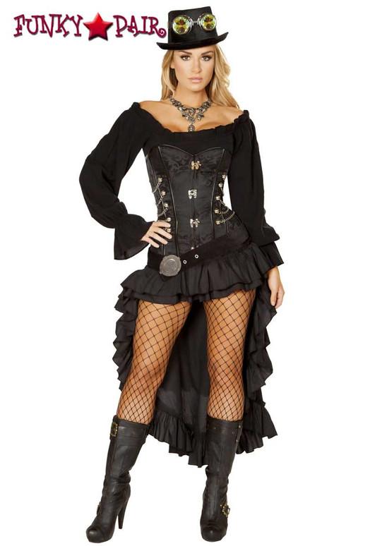 Roma Costume | R-4856, Victorian SteamPunk Maiden full view