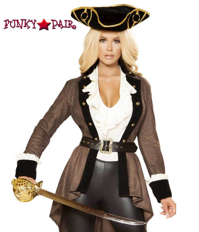 Women's Pirate Diva | Roma Costume R-4858