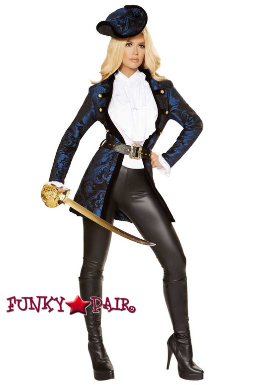 Roma Costume | R-4860, Swashbuckling Pirate Beauty