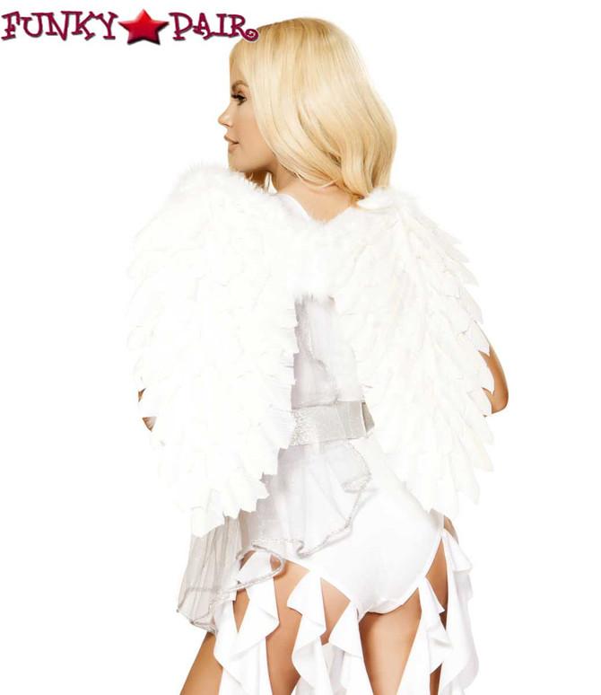 Roma   R-4871, Angel Goddess Romper Costume back view