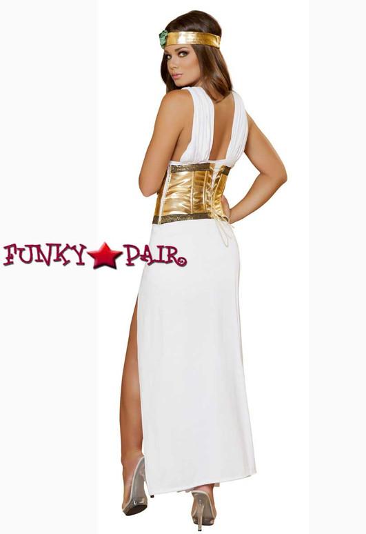 Roma Costume | R-4433, Divine Goddess full back view