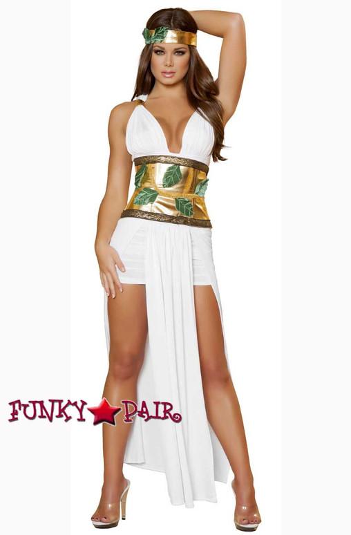 Roma Costume | R-4433, Divine Goddess full front view