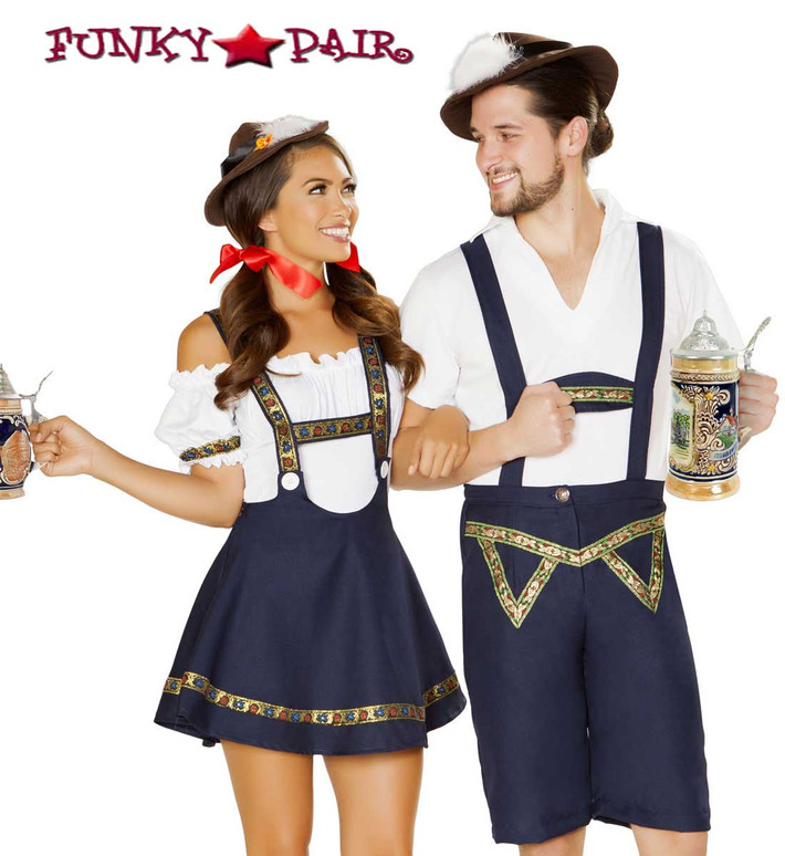 Roma Costume | R-4885, Oktoberfest Beer Bud with R-4884, Oktoberfest Bavarian Beauty