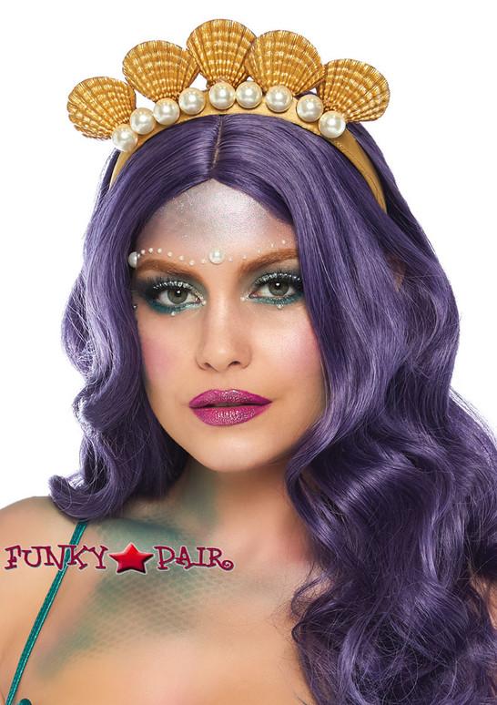 Leg Avenue | LA-2838, Gold Shell Mermaid Headband