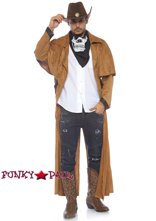 Men Costume Suede Coat LA-86785
