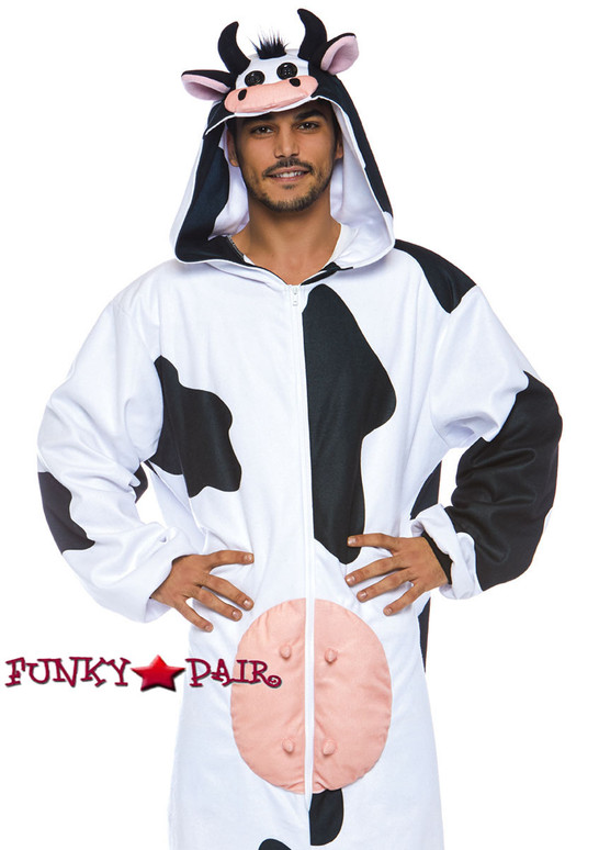 Moooo Cow Men Costume   Leg Avenue LA-86782