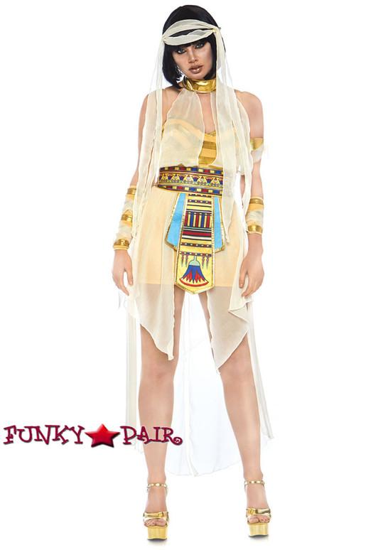 Leg Avenue | LA-86723, Nile Mummy Costume front view