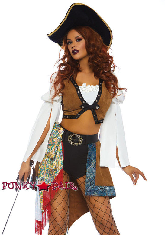 Leg Avenue | LA-86756, Swashbuckling Siren Costume