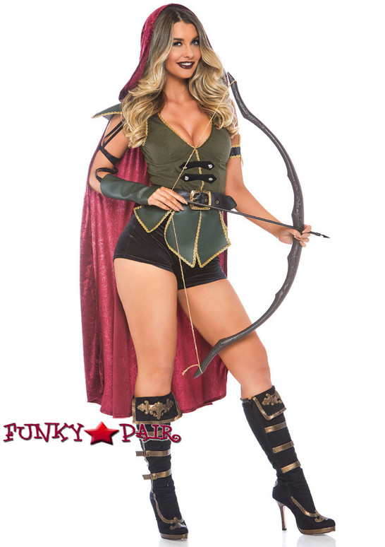 Leg Avenue | LA-86781, Ravishing Robin Hood Costume full view