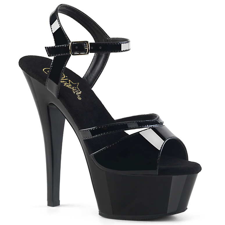 Stripper Shoes Kiss-229, Platform Ankle Strap Sandal