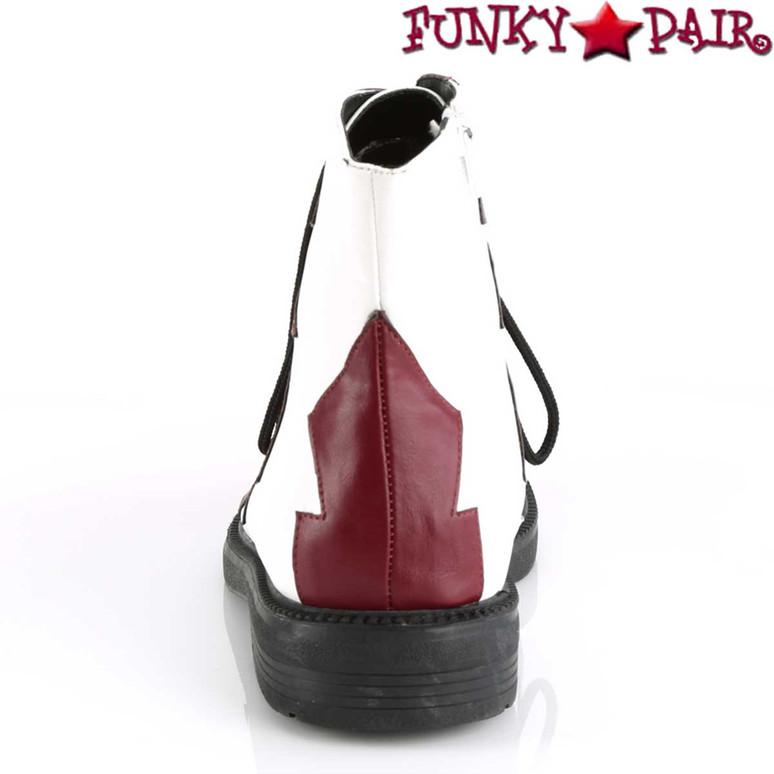 Funtasma | It-100, Men's Clown Shoes Back View
