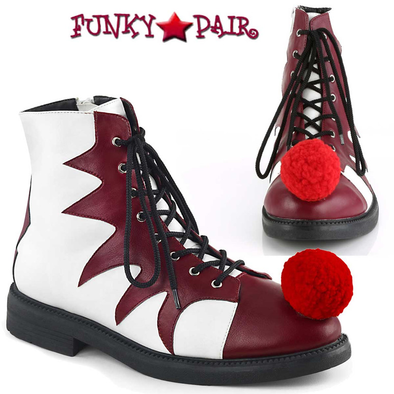 Funtasma | It-100, Men's Clown Shoes Cosplay