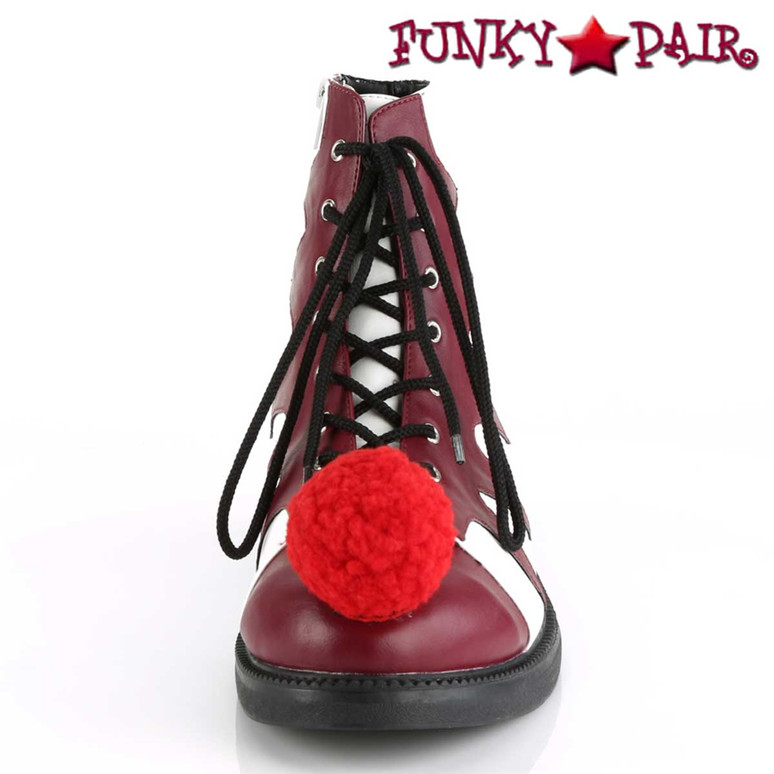 Men's Clown It-100 Shoes | Front View Cosplay Shoes