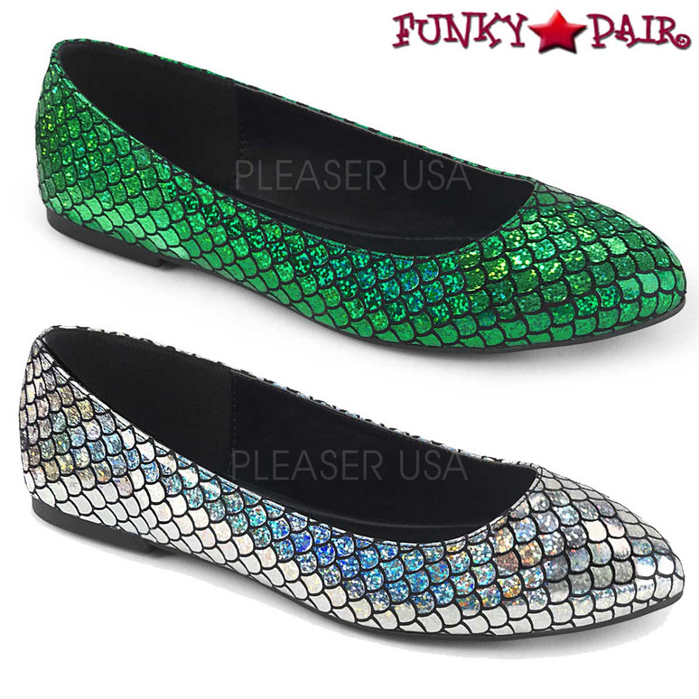Funtasma | Mermaid-21, Mermaid Fish Scale Cosplay Flats |