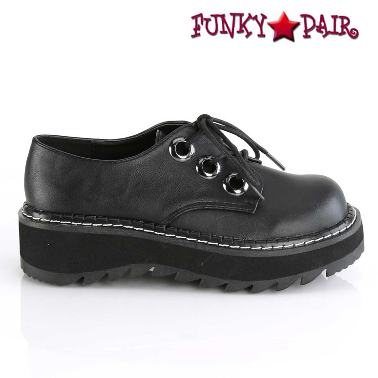 Women's Demonia | Lilith-99, Platform Oxford Shoes