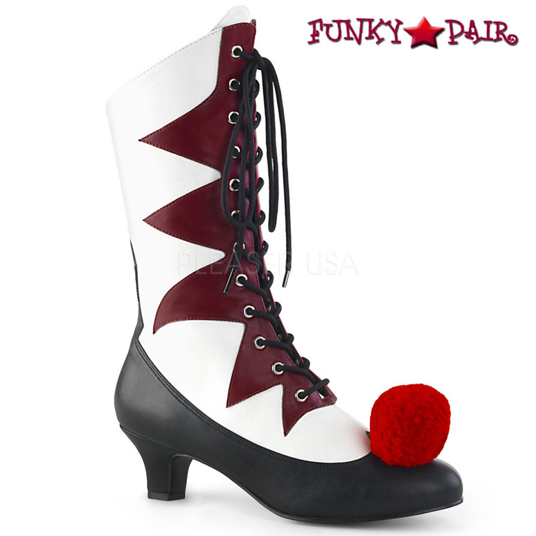 Women's Clown Boots | Funtasma IT-120