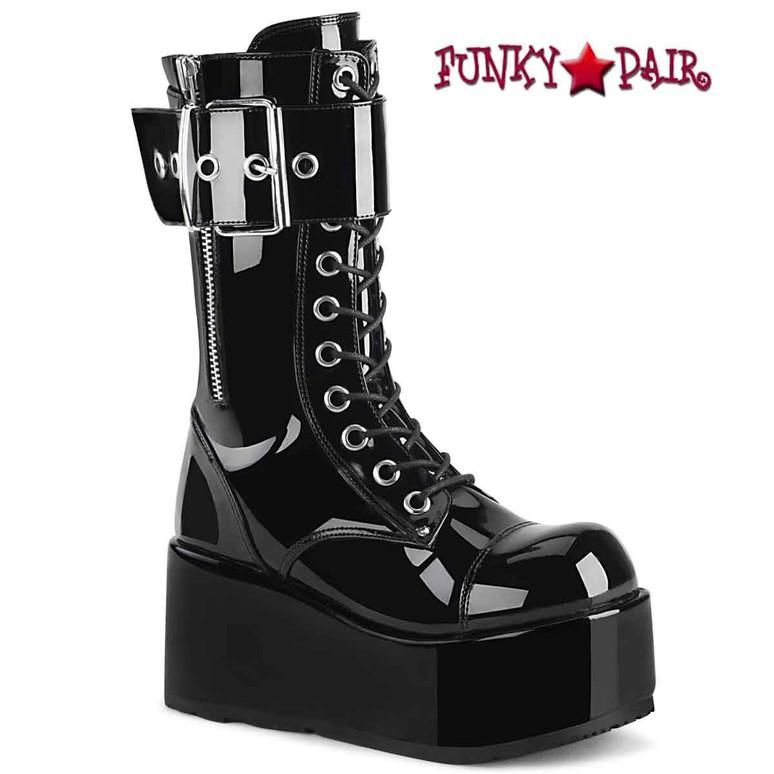 PETROL-150 Black Patent by Demonia