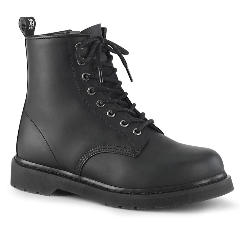 Mid-Calf Combat Boots Men's Demonia | BOLT-100,