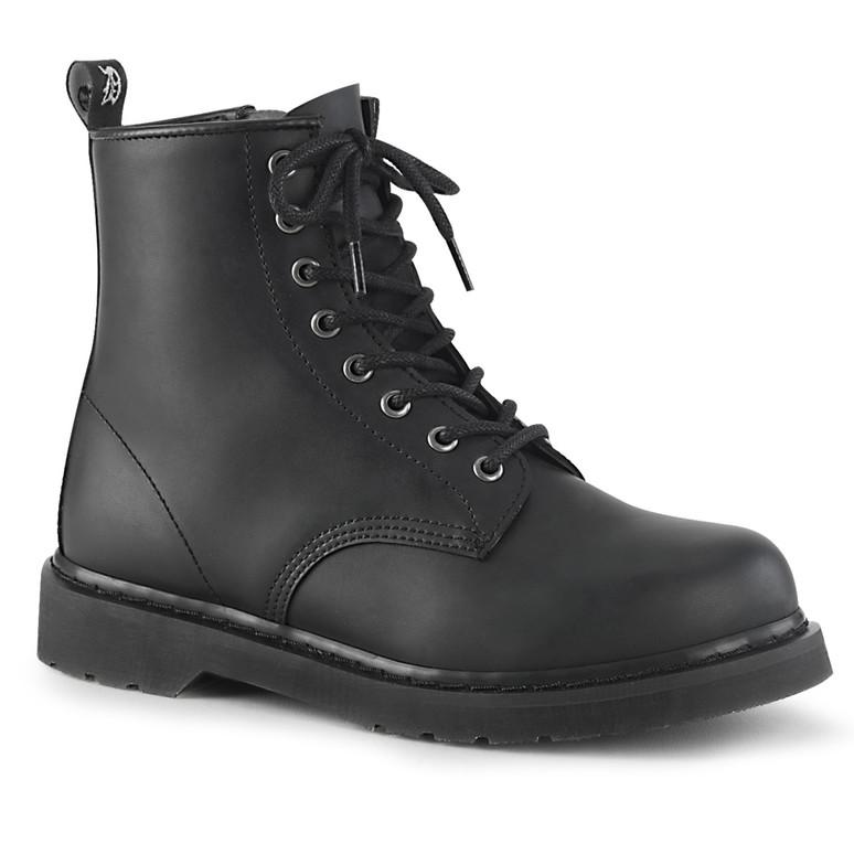 Mid-Calf Combat Boots Men's Demonia | BOLT-100,