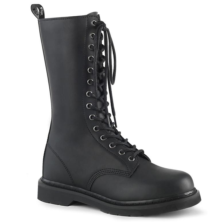 Men's Demonia   BOLT-300, Mid-Calf Lace up Combat Boots