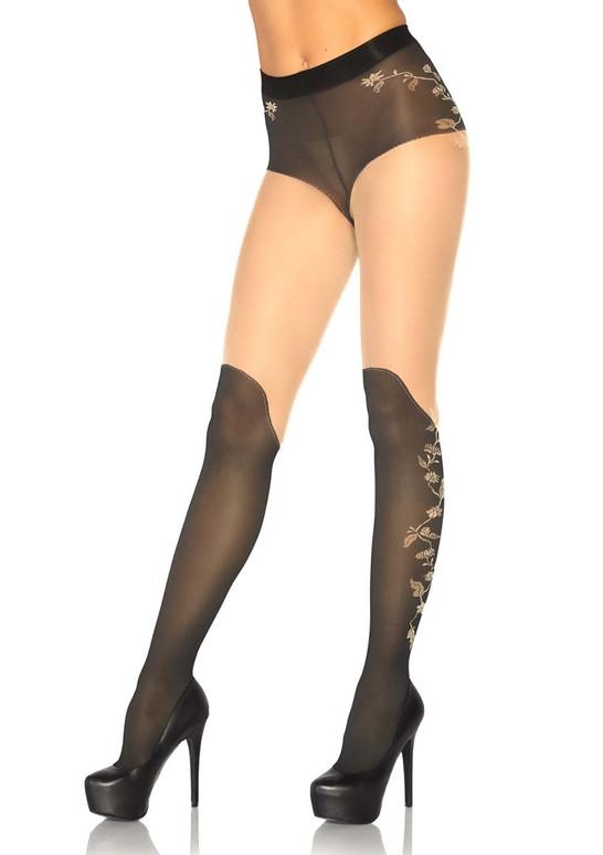 Leg Avenue   LA-7316, Sheer French Cut Pantyhose