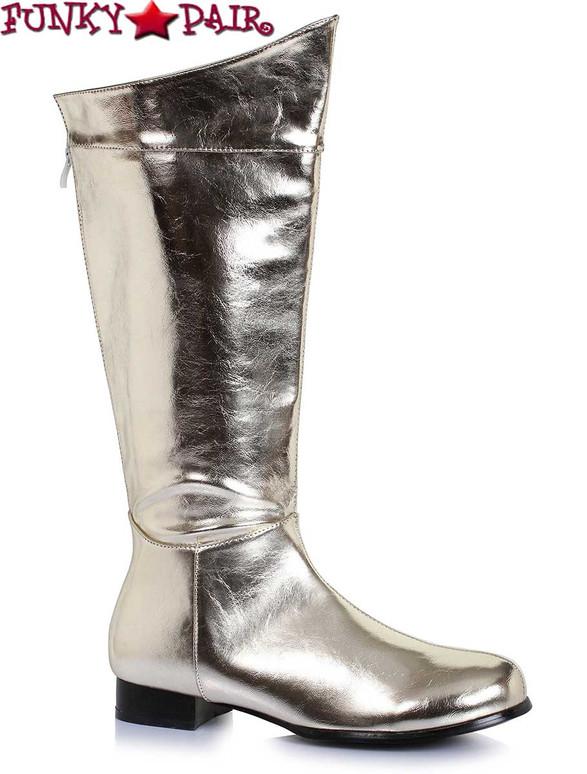 Men Superhero Gold Boots | Ellie Shoes 121-Rex