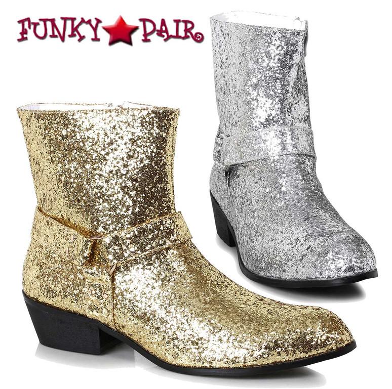 Ellie Shoes 129-Fever Men's Glitter Boots