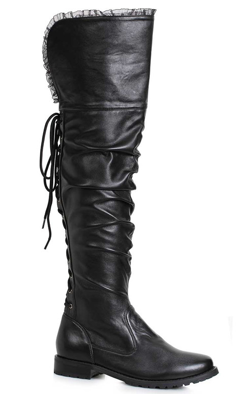 Scrunch Over-the Knee Boots   Ellie Shoes 181-Tyra