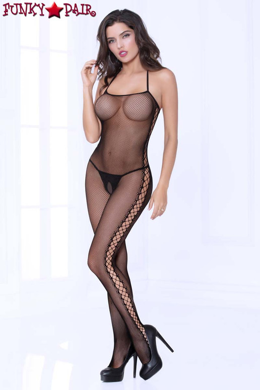 STM-20468, Cami Fishnet Bodystocking