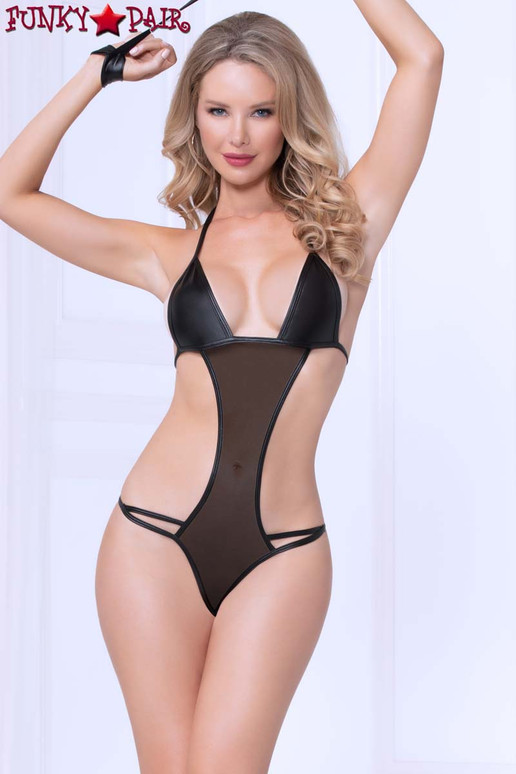 STM-11001, 2pc Mesh and Lamé Teddy Set front view