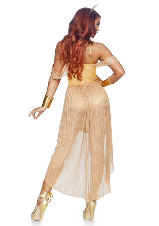 LA-86817, Sun Goddess Costume by Leg Avenue Back View