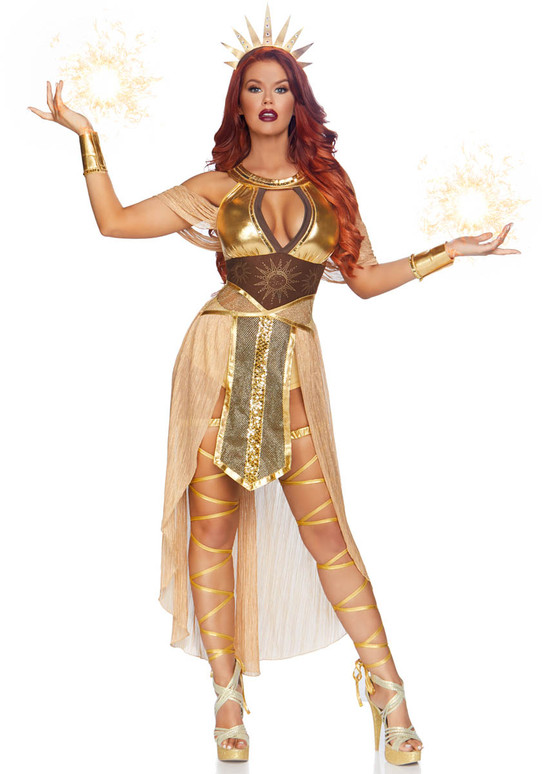 Leg Avenue LA-86817, Sun Goddess Costume Full View