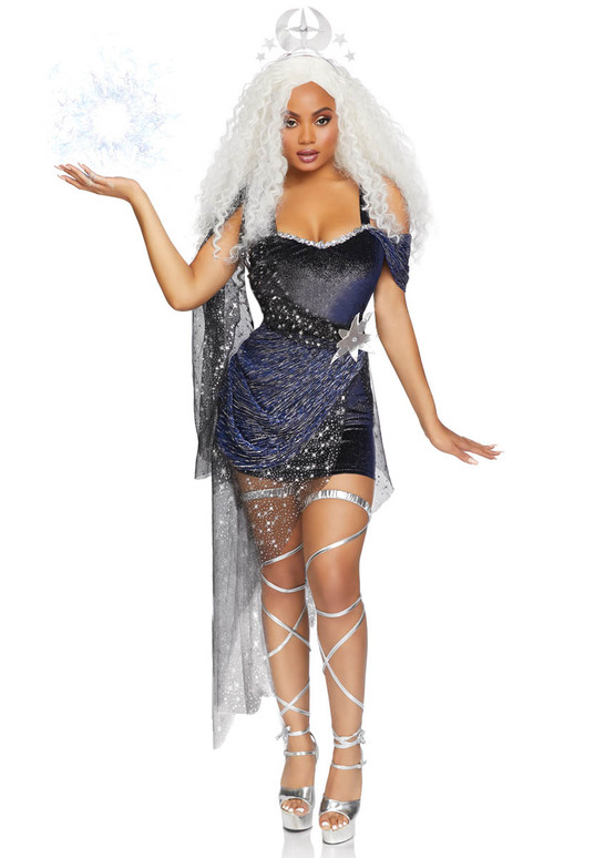 Moon Goddess Costume Leg Avenue LA-86806 Full View