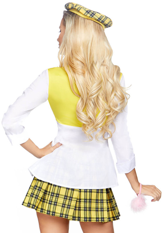 LA-86811, Clueless Cutie Costume by Leg Avenue Back View
